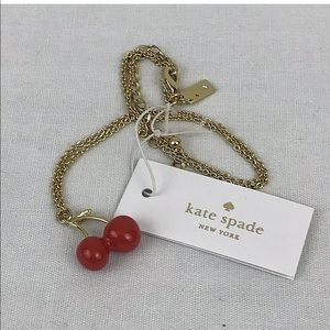 kate spade Jewelry - Kate Spade Cherries Necklace Magnolia Bakery